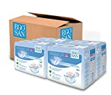 EGOSAN Maxi Incontinence Disposable Adult Diaper Brief Maximum Absorbency and Adjustable Tabs for Men and Women (Large Case, 60-Count)