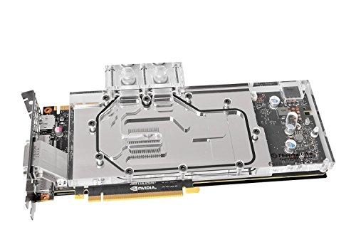 Thermaltake Pacific V-GTX 10 1080/1070 Nickel Full Cover Transparent GPU Water Block, Clear