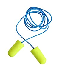 Foam Ear Plugs-Earplugs for Sleeping,Snoring,Noise Cancelling,Hearing Protection,Travel,Work,Study Partner.NRR:33 DB(Yellow,1 pair)