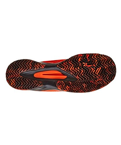 Wilson WRS322370E110, Zapatillas de Tenis Para Hombre, Varios Colores (Multicolor/Flame/Black/Black), 46 EU