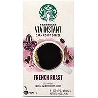 8-Count Starbucks VIA Instant French Dark Roast Coffee