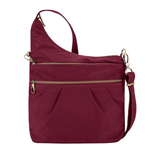 Ruby theft Travelon Signature Bag Black 3 Body Compartment Cross Anti 4xFqx7ZT