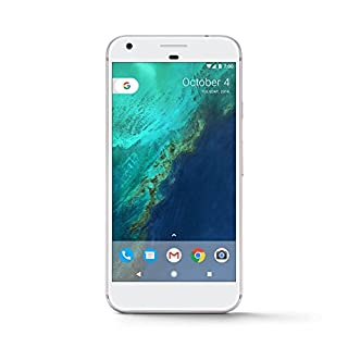 "Google Pixel XL (32GB, 4GB RAM) 5.5"" Display, Snapdragon 821, Single SIM GSM Factory Unlocked, US & Global 4G LTE International Version - G-2PW2200 (Very Silver)"