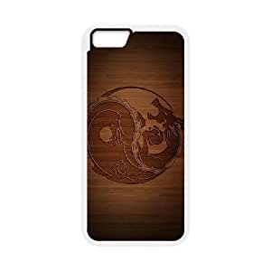 Yin Yang Phone Case And One Free Tempered-Glass Screen Protector For iPhone 6,6S 4.7 Inch W58223