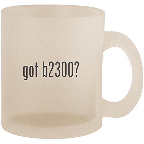 got b2300? - Frosted 10oz Glass Coffee Cup Mug