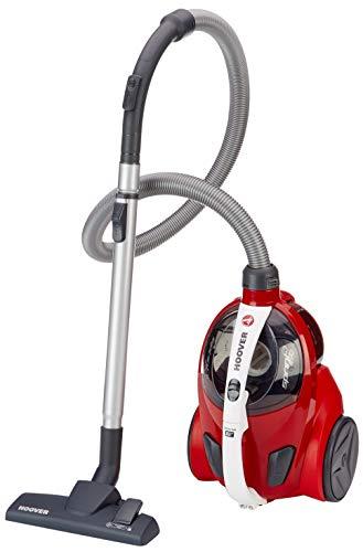 Hoover Sprint Evo SE51 - Aspirador cable sin bolsa, Ciclónico, Cepillos especiales parquet, suelos duros y alfombras…