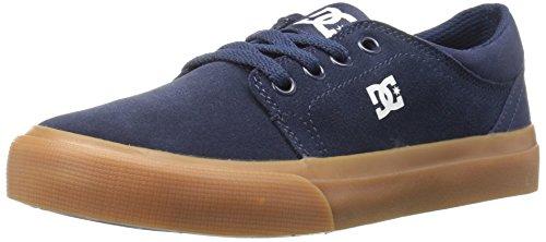 DC - Zapatillas para niño azul marino/marrón