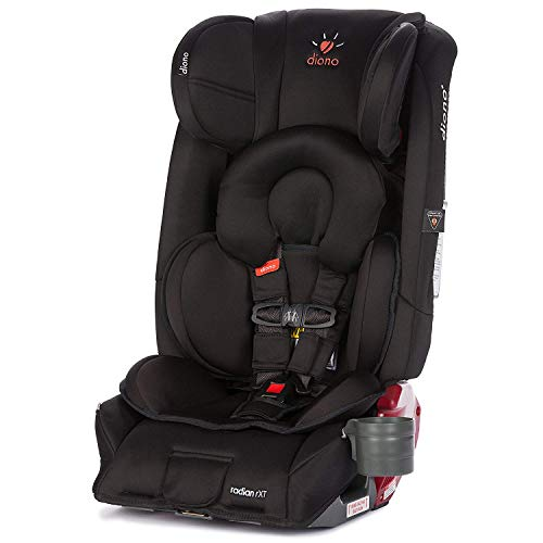 Diono Radian RXT All-in-One Convertible Car Seat, For Children from Birth to 120 Pounds, Midnight