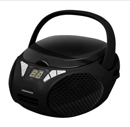 - Magnavox MD6924 New CD Boombox - Black
