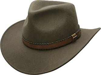 Conner Hats Australian Wool Outback Crushable Water Proof Western Cowboy Hat da85a0964d59