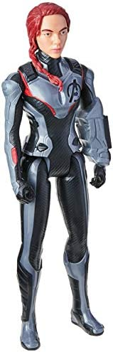 Boneca Marvel Avengers Titan Hero Black Widow 2.0 Viúva Negra - Figura de 30 cm - E3920 - Hasbro