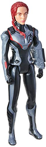 Avengers Marvel Endgame Titan Hero Series Black Widow 12-Inch-Scale Super Hero Action Figure Toy with Titan Hero Power FX Port