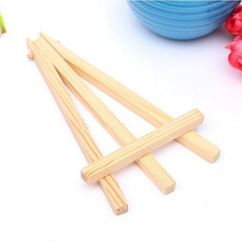 1 Pcs Mini Wood Display Easel Wedding Place Name Card Holder Stand By Crqes by Crqes (Image #3)