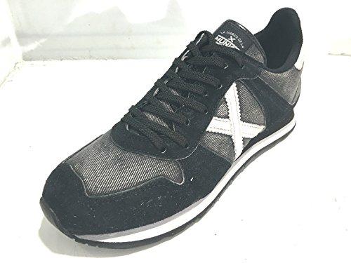 Munich - Zapatillas de Material Sintético para hombre negro vaquera negro