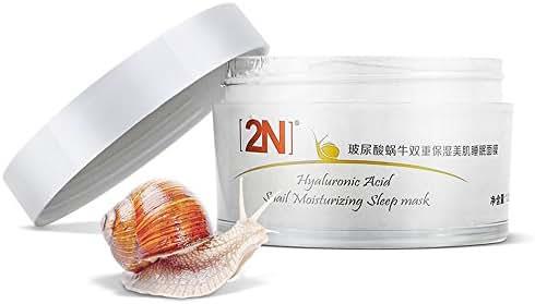 Moisturizing Whitening Firming Overnight Sleep Face Mask Cream-Useful for Moisturizing+Anti-Aging+ Oil-Control+ Tighten Pore+ Brightening +Hydrating