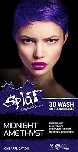Splat 30 Wash No Bleach Formula (Midnight Amethyst)