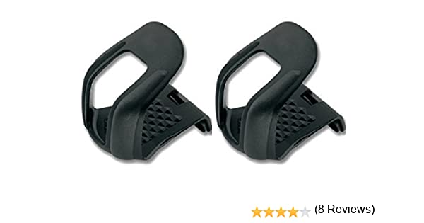 2X Calapies de Nylon Rigido Para Pedales Bicicleta Mtb Trekking ...