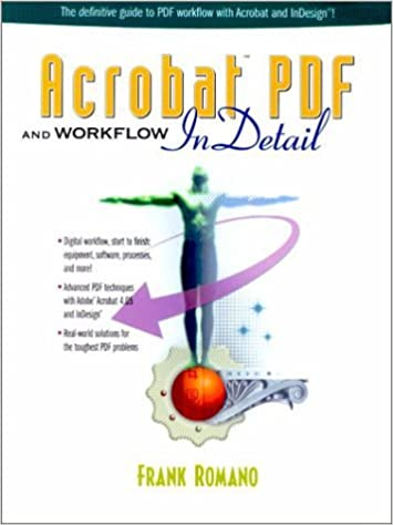 Book Acrobat PDF and Workflow InDetail by Romano Frank (2000-06-20)