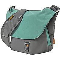 Ape Case Large DSLR Bag, Lightweight DSLR Camera Case, DSLR Camera Bag, Messenger Travel Bag, Messenger School Bag, Mini Drone Case, 15 by 10 by 5 inches, Blue