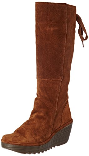 Yust Camel Women's Boots Fly Brown London 8zcOPO