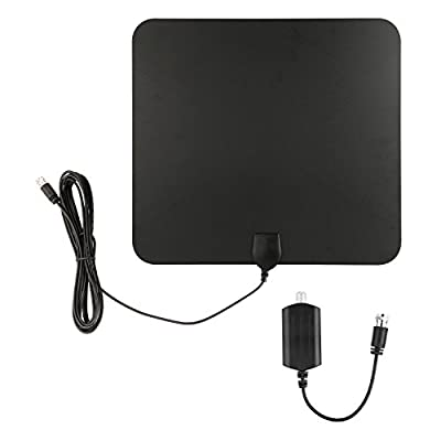 Blimark HDTV Indoor Antenna- 50 Miles Digital Long Range TV HD Antenna With Amplifier Signal Booster Upgraded Version Better Reception