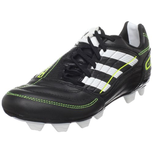 adidas PREDATOR Absolado_X TRX FG Soccer Cleat (Little Kid/Big Kid),Black/Running White/Electricity,10.5 M US Toddler