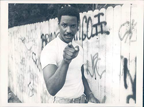 Vintage Photos 1986 Photo Denzel Washington Actor Award Director Producer Golden Globe 7x9