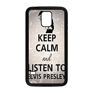 Customized Durable Case for SamSung Galaxy S5 I9600, Elvis Presley Phone Case - HL-2016721