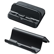 Wii U GamePad Stand/Cradle Set - Black