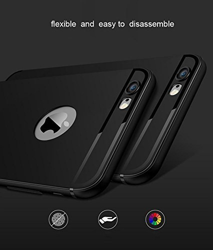 AE-MOBILE-ACCESSORIES-Super-Frosted-Hard-Back-Cover-Case-Shell-For-Apple-Iphone-6-47-Black