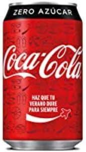 COCA COLA zero lata 33 cl: Amazon.es: Alimentación y bebidas