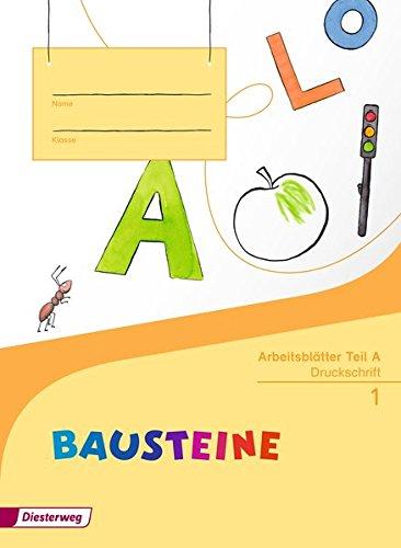 BAUSTEINE Fibel - Ausgabe 2014: Arbeitsblätter DS