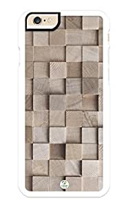 iZERCASE iPhone 6 Case Stack of Lumber Wood Pattern RUBBER CASE - Fits iPhone 6 T-Mobile, Verizon, AT&T, Sprint and International by supermalls