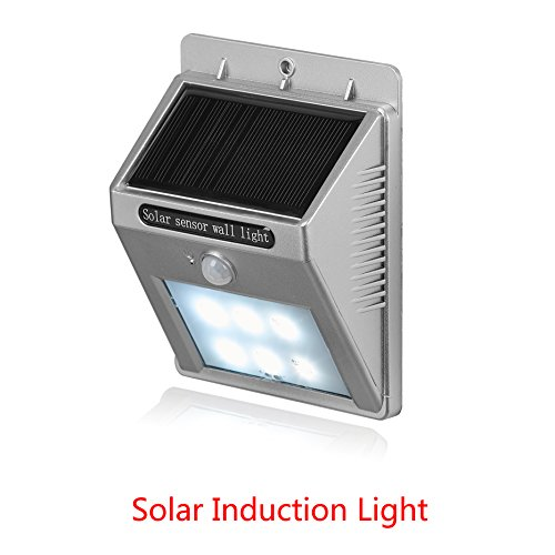 200LM 30 LEDs Solar Powered Wall Light PIR Motion Sensor Lamp - 1