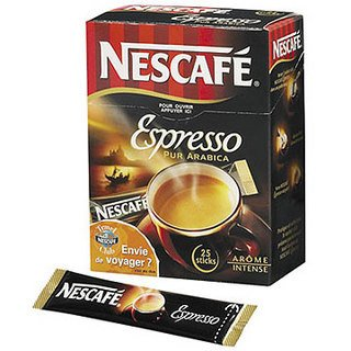 Nescafe Instant Coffee Espresso 25 stick pack