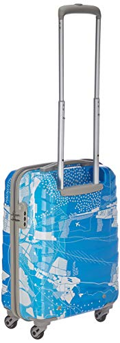 41UaSi8w%2B9L Skybags Trooper 55 Cms Polycarbonate Blue Hardsided Cabin Luggage