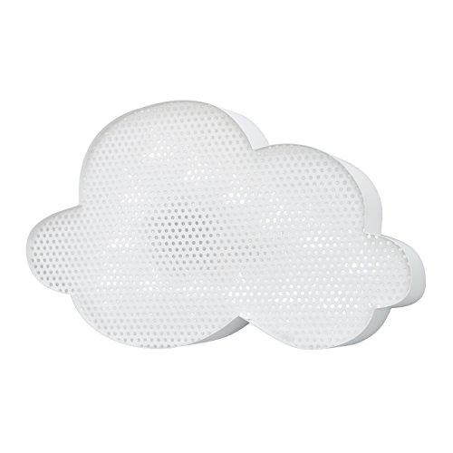 NoJo Light Up Mesh Room Decor, Cloud, White