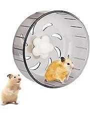 Hamsterwiel Hamster Oefenwielen Hamster Loopwiel Stille Spinners Hamster Oefening Wiel Bal Hamster Wiel Stil Hamsterwiel Superstil Doorschijnend Voor Hamsters Gerbils Muizen Of Andere Kleine Dieren