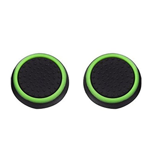 Price comparison product image Kanzd 8X Luminous Silicone Gel Thumb Grips Caps For Nintendo Switch Controller Replacement Controller (B)