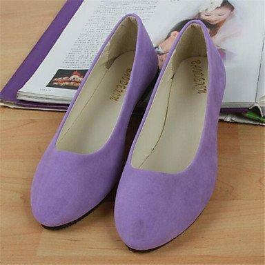 de más zapatos colores rosa de Casual availably mujer elegante zapatos soporte Flats redonda Cómodo talón y punta de plano qx1atxZY