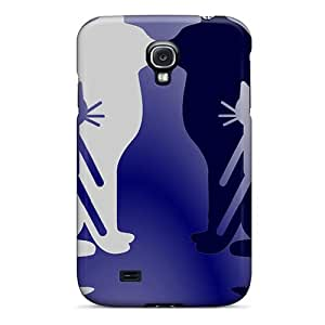 New Style Tpu S4 Protective Case Cover/ Galaxy Case - Cat Kittycat In A Cat