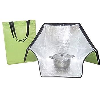 Horno solar ligero, plegable perfecto para acampadas . incluye bolsa