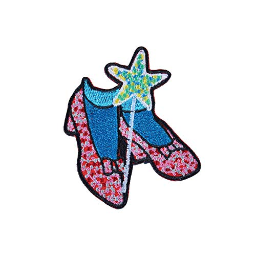 - The Wizard of Oz Ruby Slippers Iron On Patch