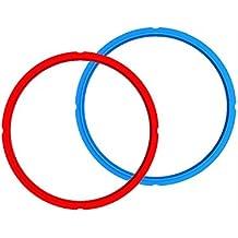 Genuine Instant Pot Sealing Ring 2-Pack - 8 Quart Red/Blue