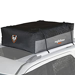 Rightline Gear 100S30 Sport 3 Car Top Carrier, 18 cu ft, Waterproof, Attaches With or Without Roof Rack