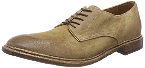 Preventi Smooth, Scarpe Stringate Derby Uomo Marrone (Tdm)