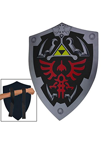 Dark Elf Cosplay Costume (Dark Elf Shadow Foam Costume Shield LARP Cosplay by Armory Replicas)