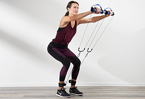 Viatek Consumer Products Group Portable Resistance Band Workout System - Light Resistance by Viatek Consumer Products Group
