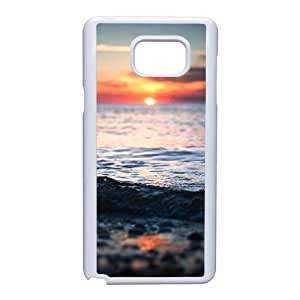 Good Quality Phone Case With HD Seascape Images On The Back , Perfectly Fit To Samsung Galaxy Note 5