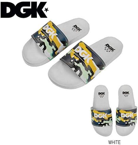 【DGK】ディージーケー 2019春 DGK Ruckus Slide Slippers サンダル ビーチサンダル メンズ 靴 スリッパ Mens sandals Footwear アクセサリー White